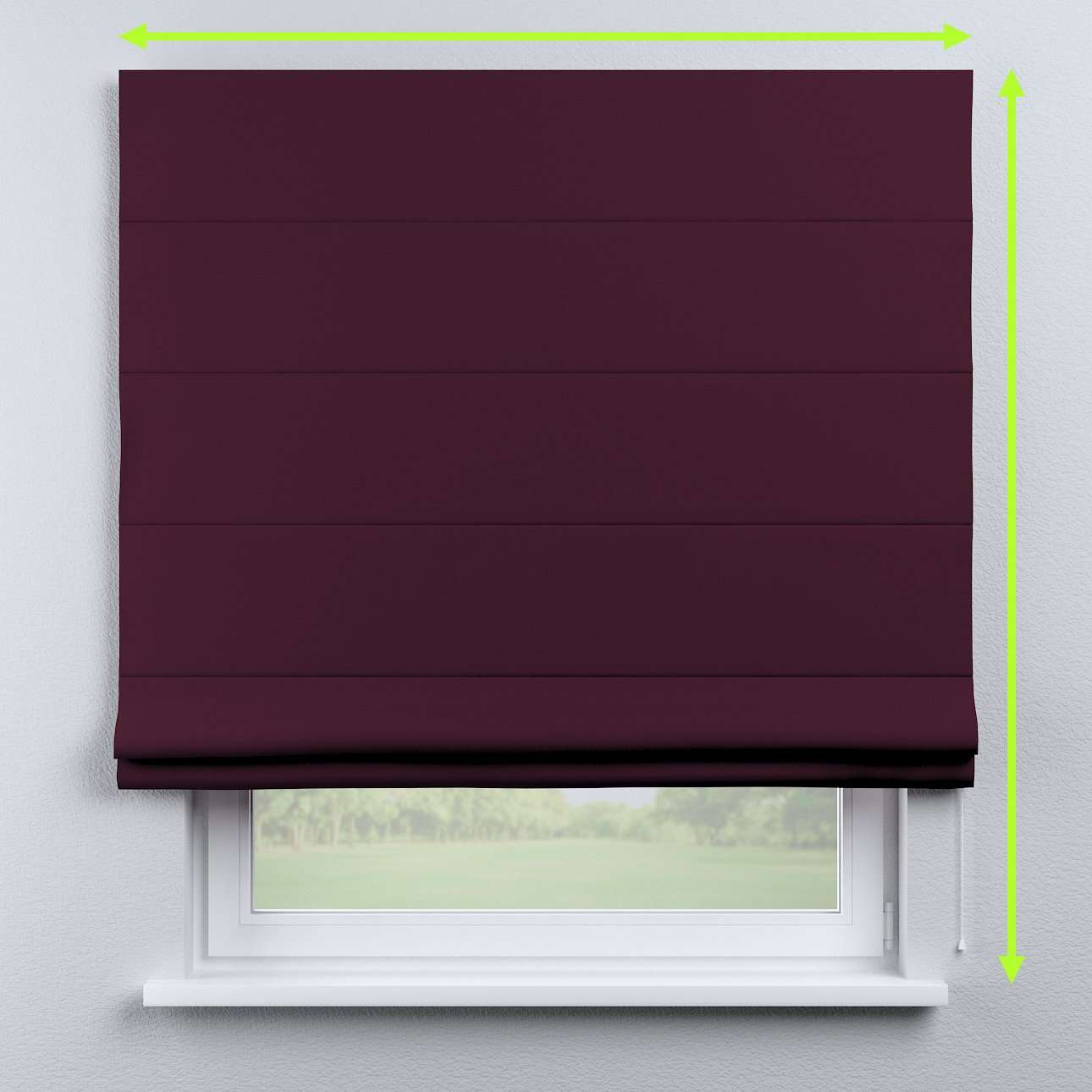 Capri roman blind in collection Blackout, fabric: 269-53