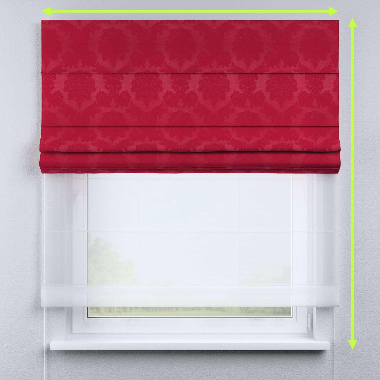 Roleta rzymska Duo w kolekcji Damasco, tkanina: 613-13