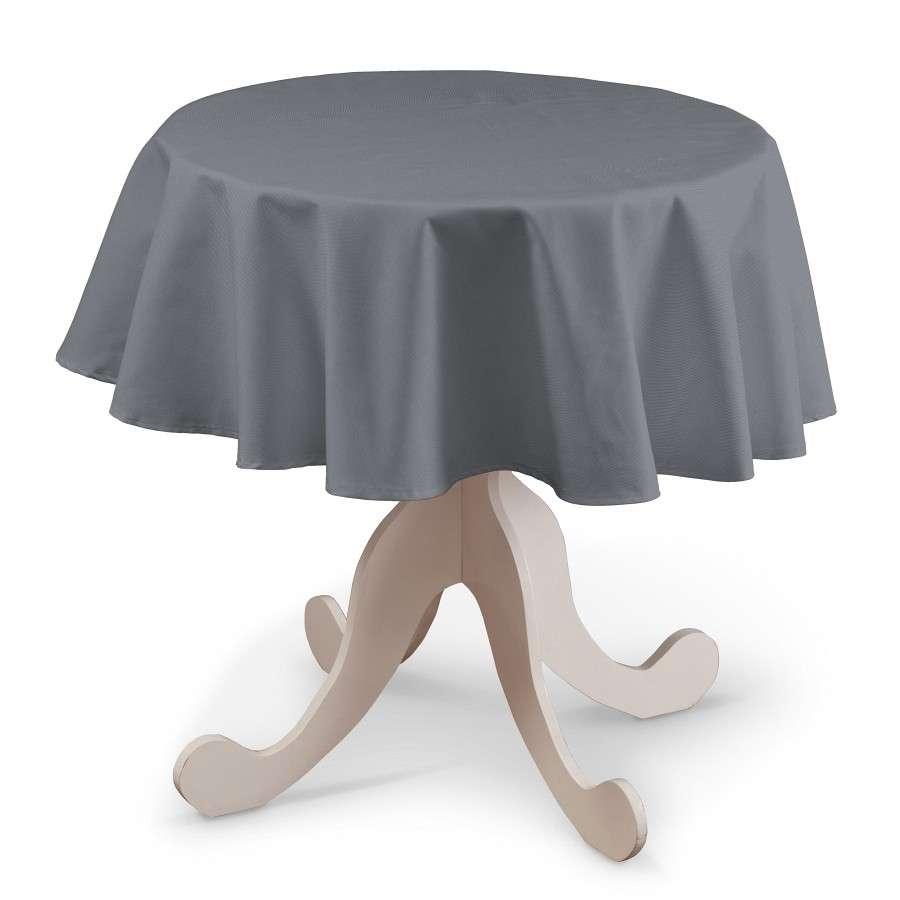 Kerek asztalterítő a kollekcióból Cotton Panama Bútorszövet, Dekoranyag: 702-07