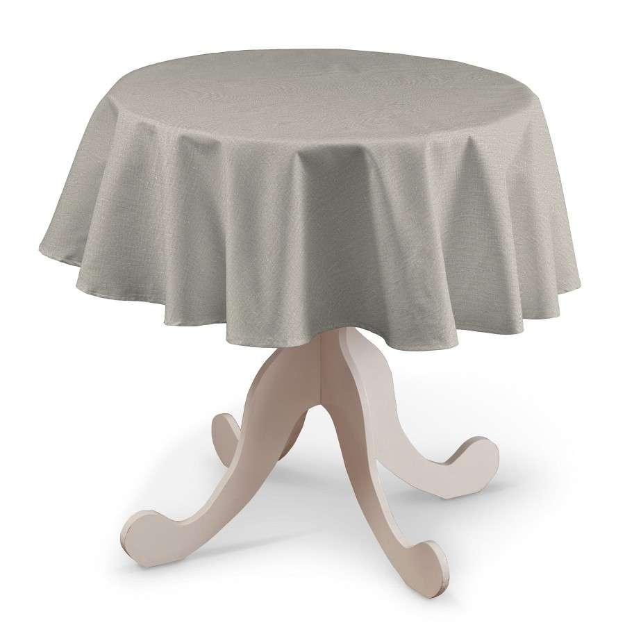Kerek asztalterítő a kollekcióból Leinen Lakástextil, Dekoranyag: 392-05