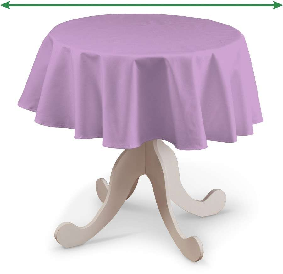 Round tablecloth in collection Loneta , fabric: 133-38