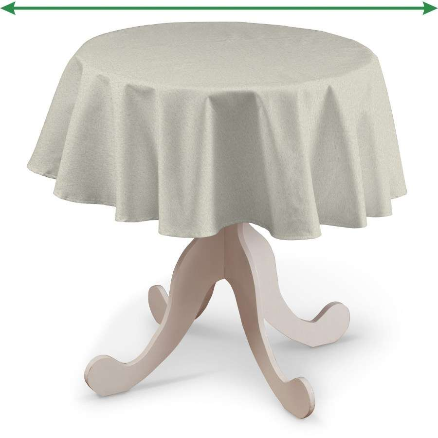 Runde borddug fra kollektionen Loneta, Stof: 133-65