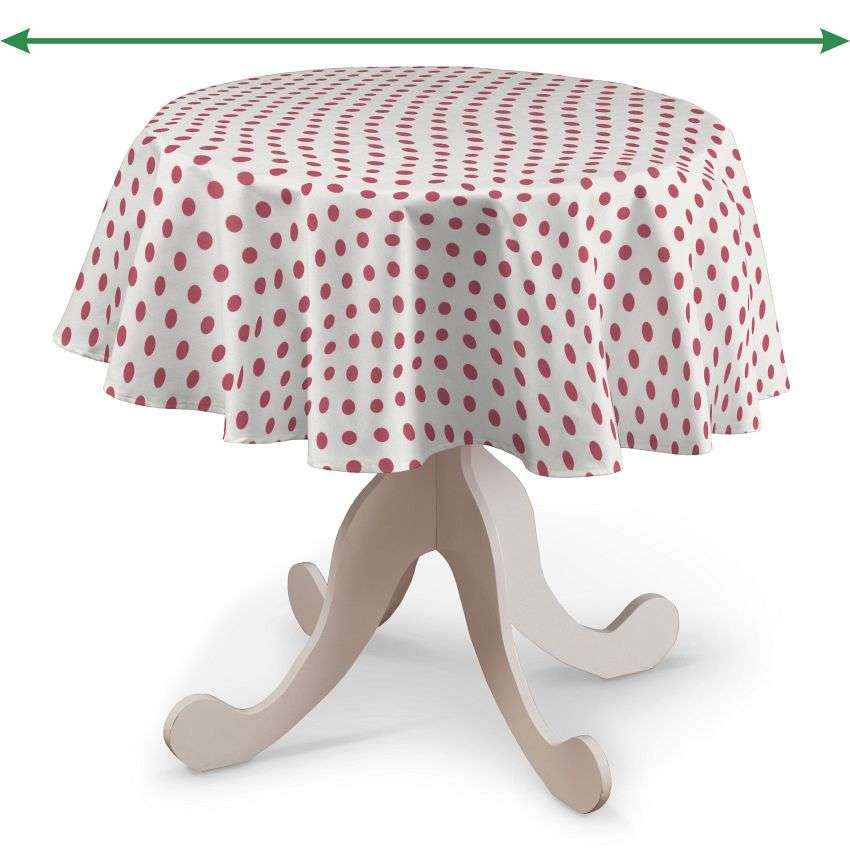 Round tablecloth in collection Little World, fabric: 137-70