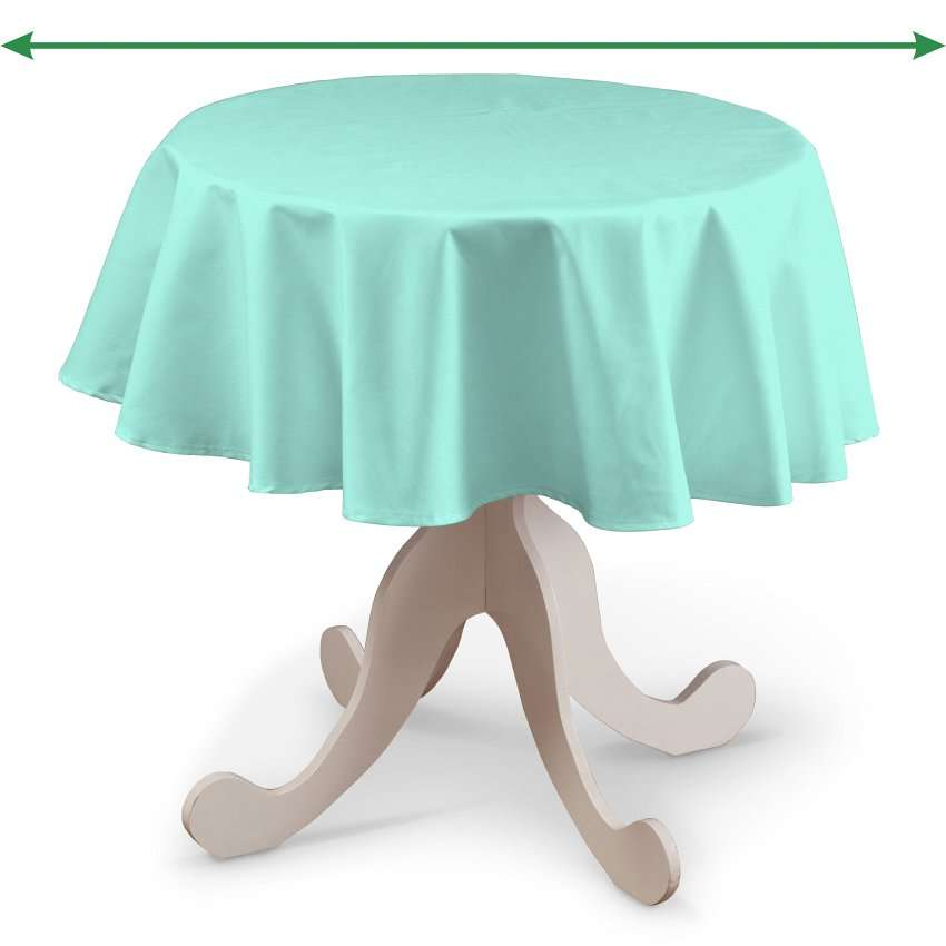 Round tablecloth in collection Loneta , fabric: 133-32