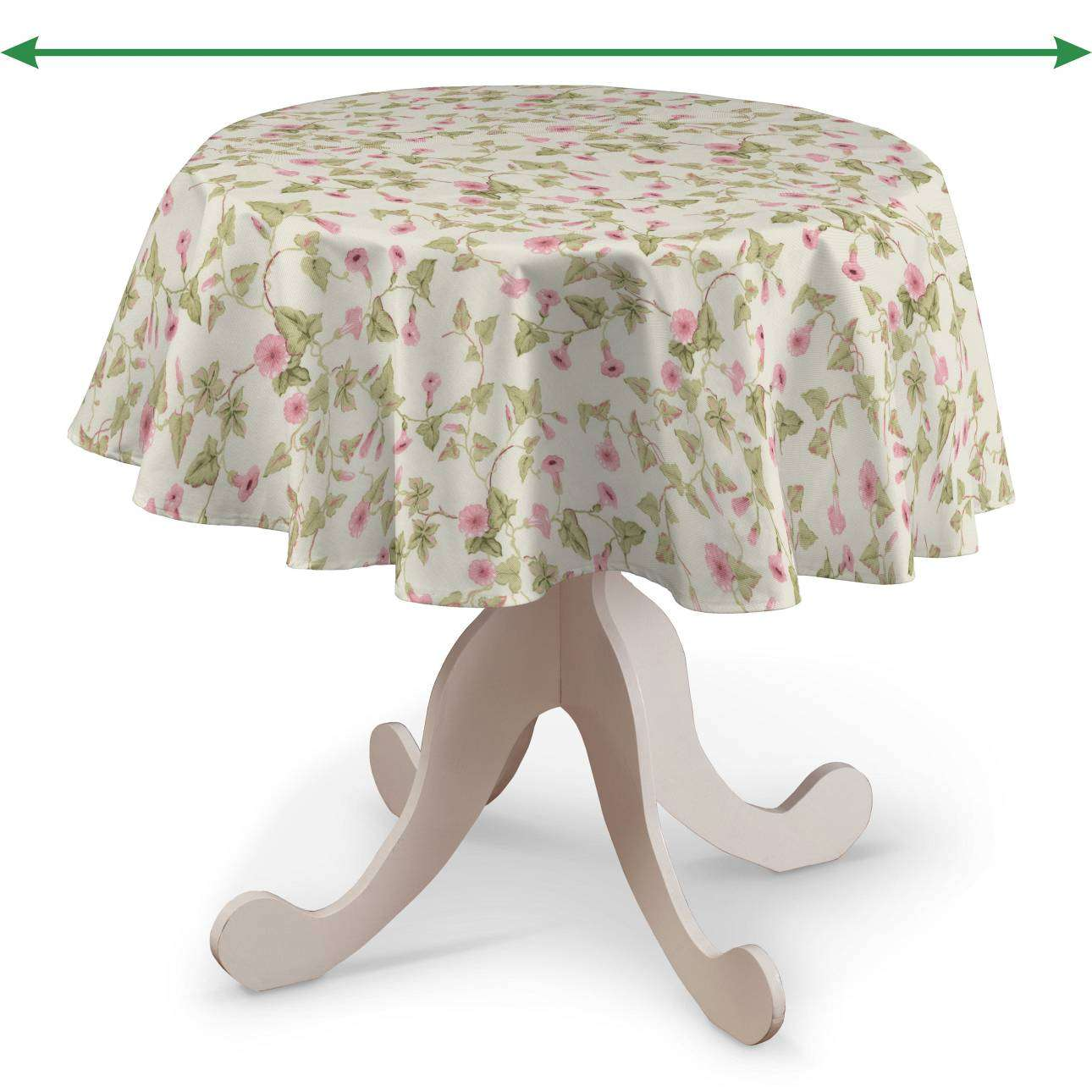 Round tablecloth in collection Londres, fabric: 140-41