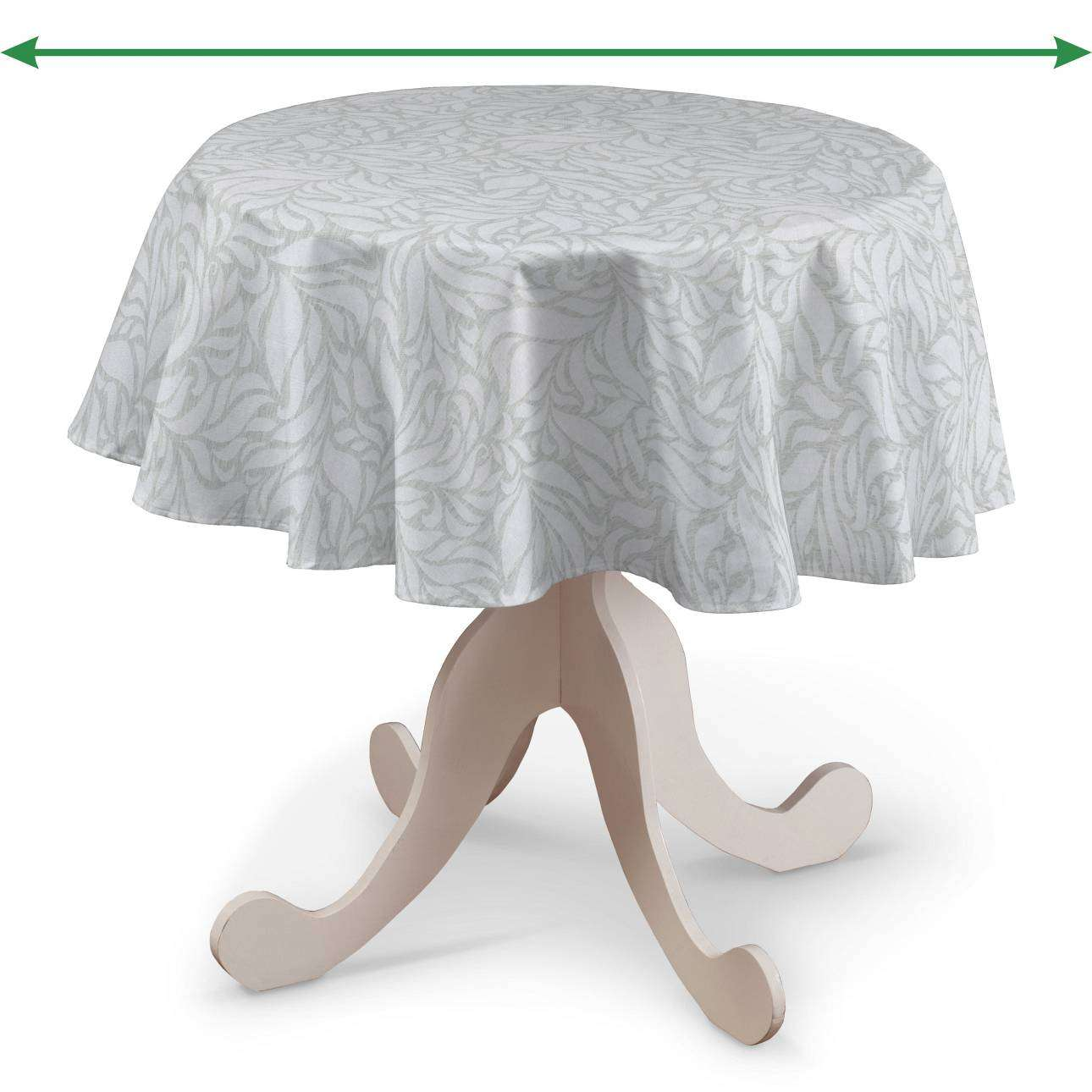 Round tablecloth in collection Venice, fabric: 140-50