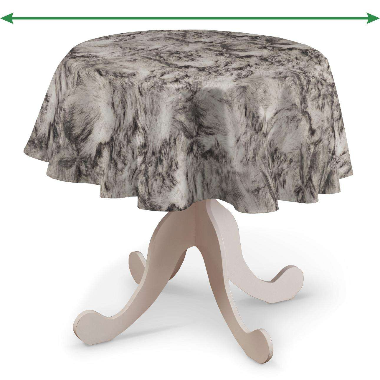 Round tablecloth in collection SALE, fabric: 140-82