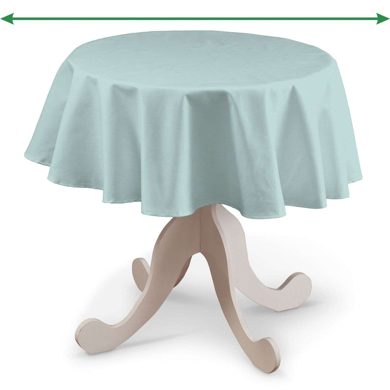 Round tablecloth in collection Panama Cotton, fabric: 702-10