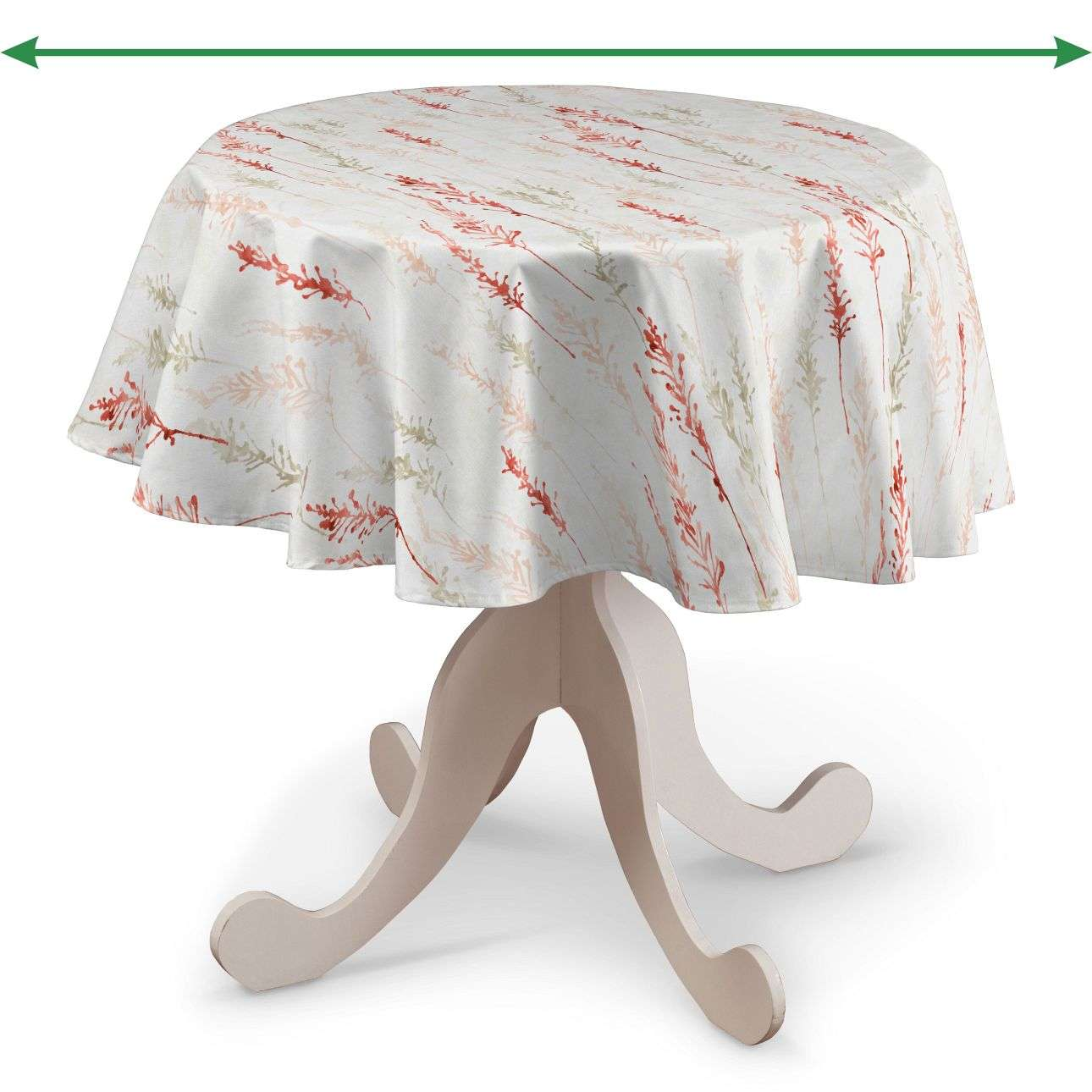 Round tablecloth in collection SALE, fabric: 141-37