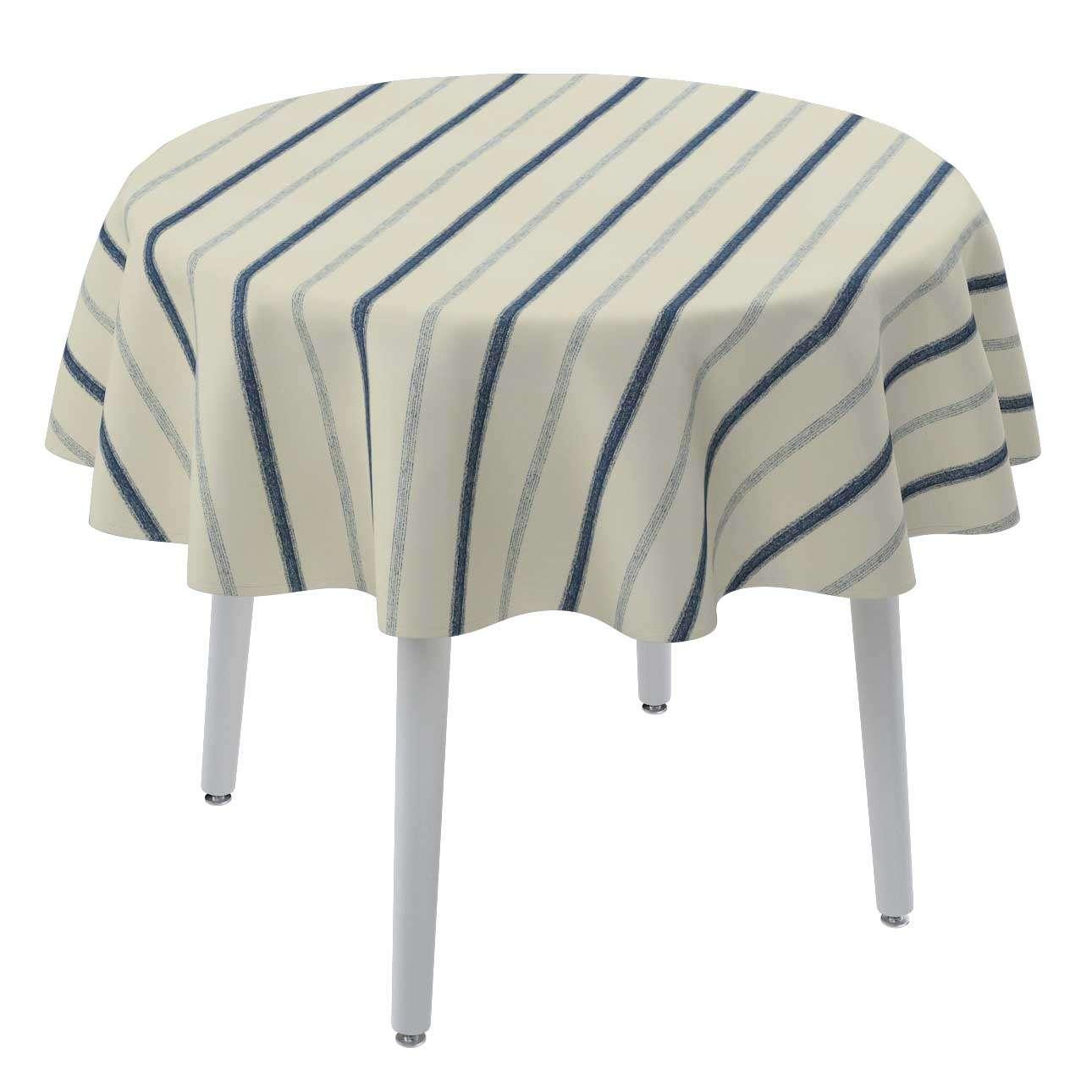 Runde borddug fra kollektionen Avinon, Stof: 129-66