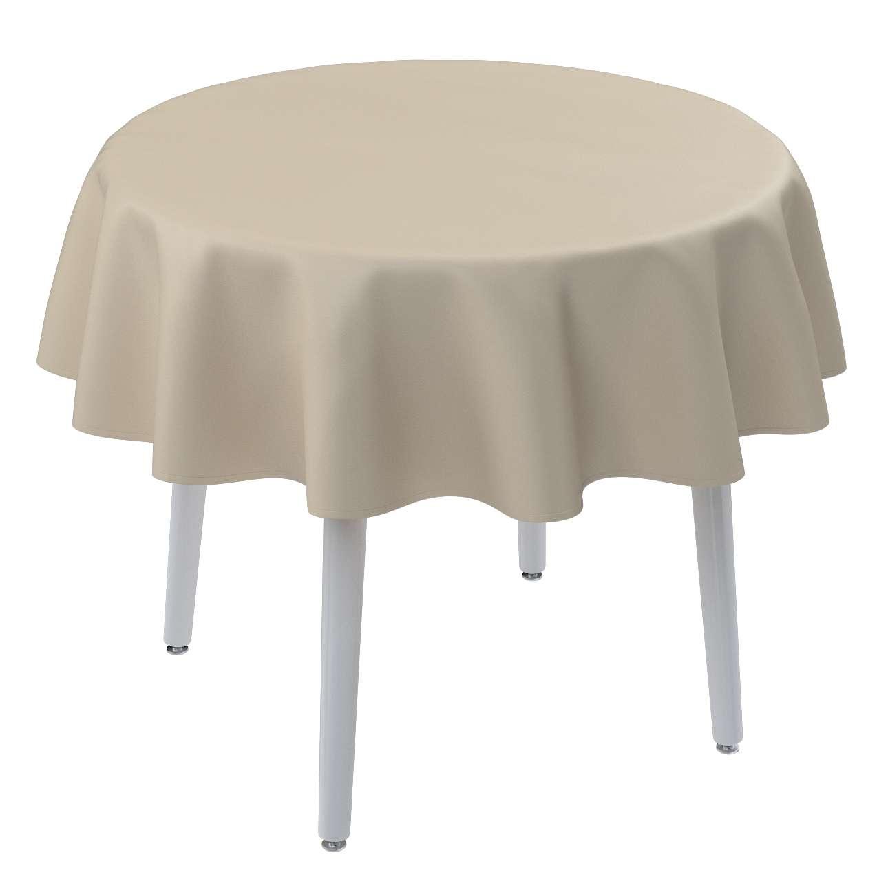 Runde borddug fra kollektionen Damasco, Stof: 141-73