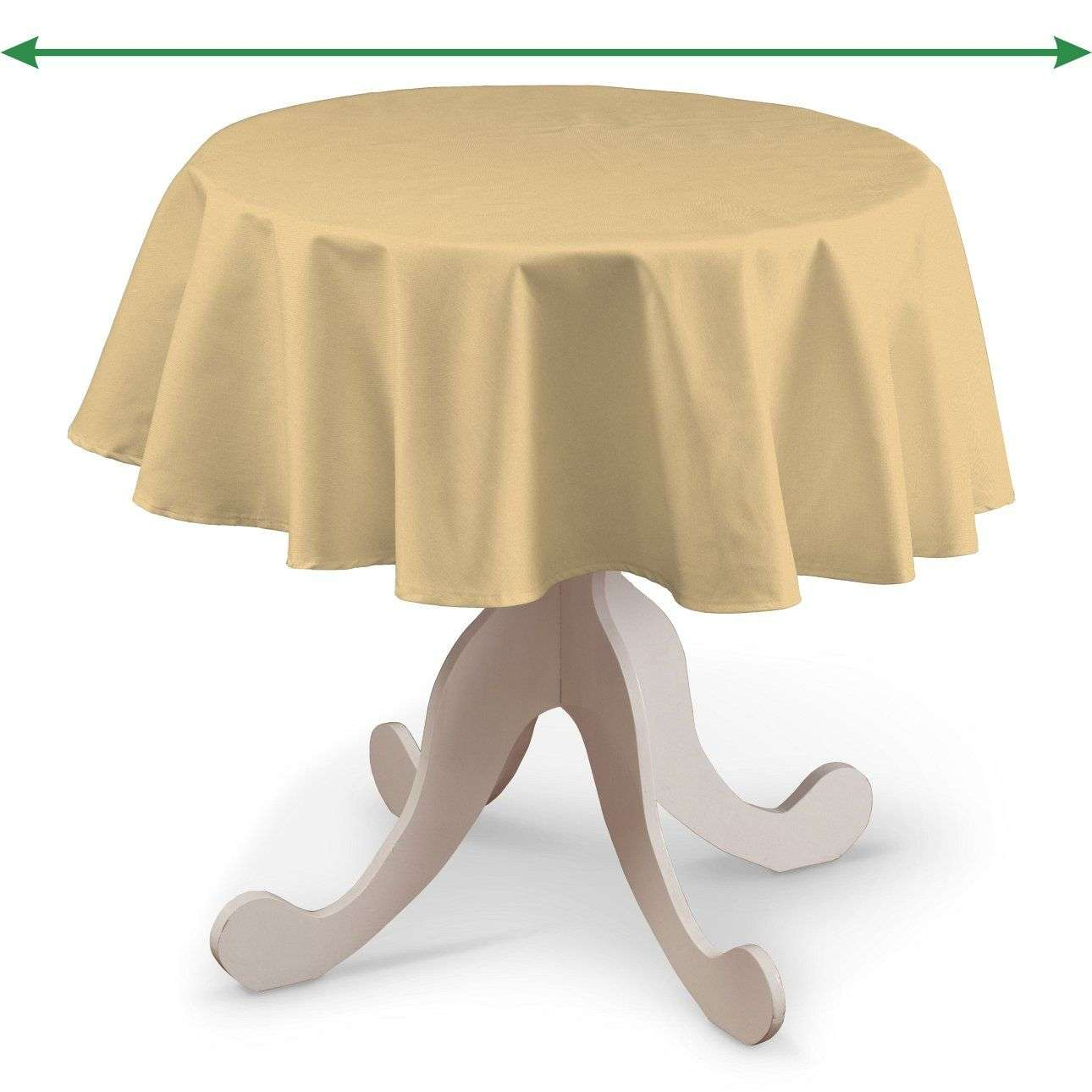 Round tablecloth in collection Damasco, fabric: 141-75