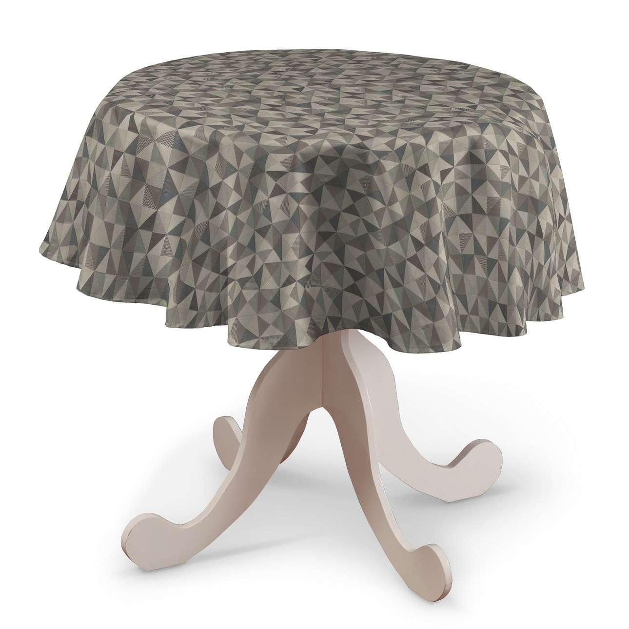 Runde borddug fra kollektionen Retro Glam, Stof: 142-84
