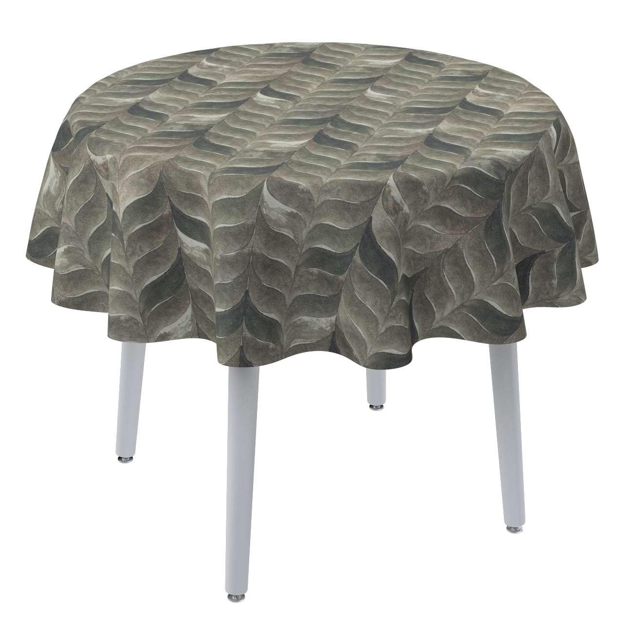 Runde borddug fra kollektionen Abigail, Stof: 143-12