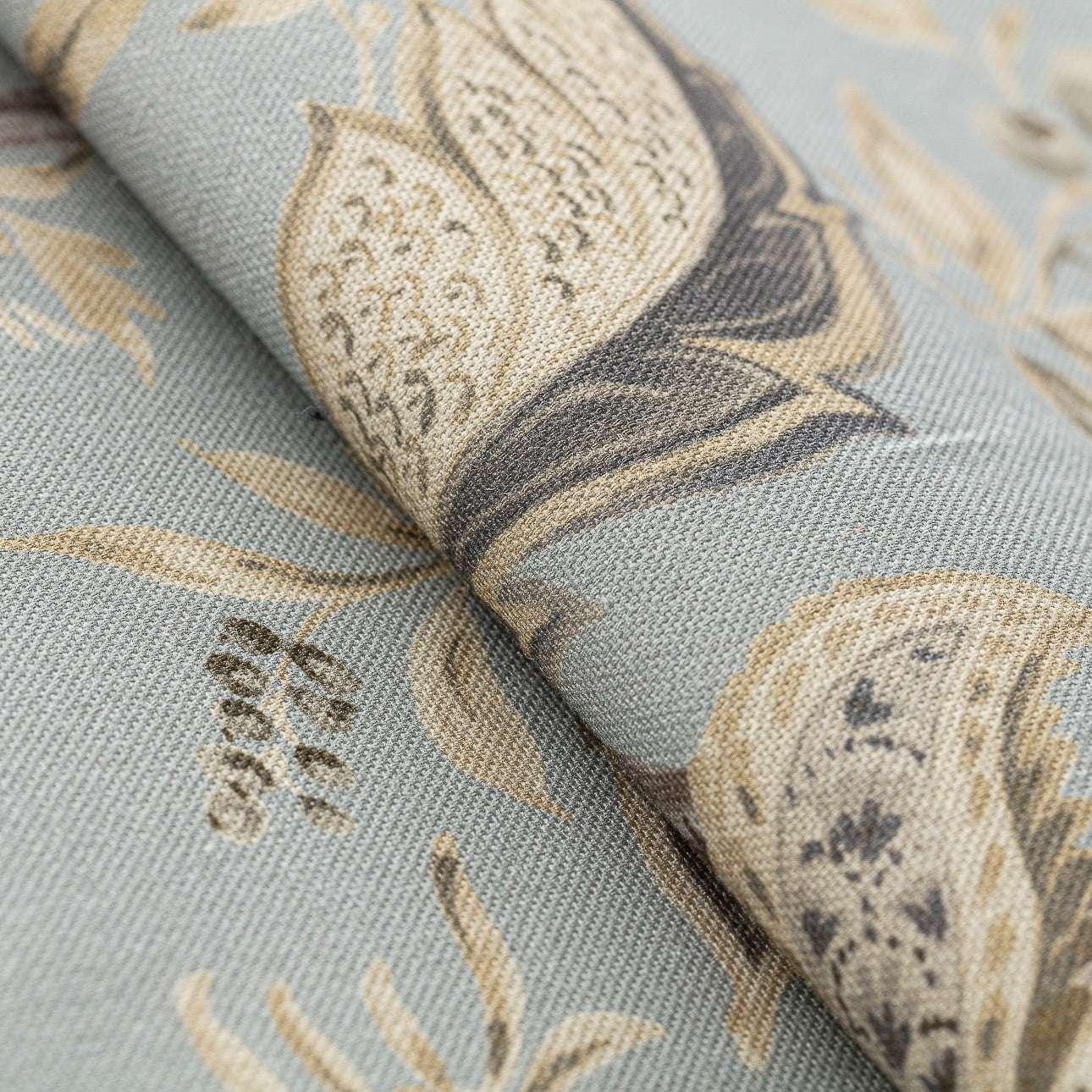 Zasłona na kółkach 1 szt. w kolekcji Gardenia, tkanina: 142-18