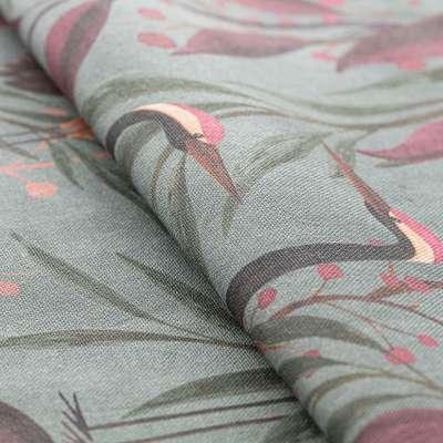 Záves na pútkach V kolekcii Abigail, tkanina: 143-11