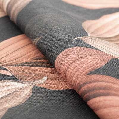 Krátky záves na riasiacej páske V kolekcii Abigail, tkanina: 143-21