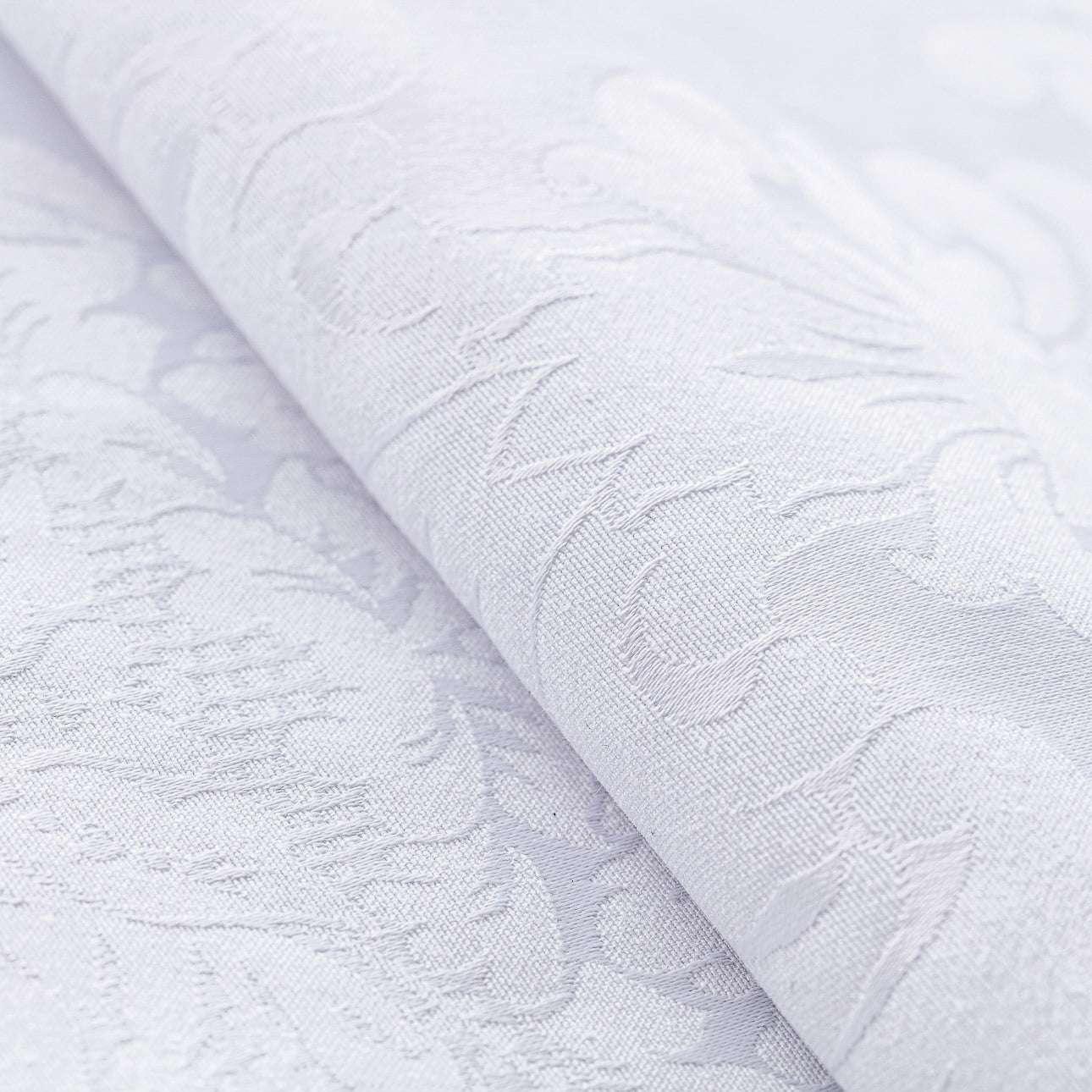 Poduszka wałek z zakładkami w kolekcji Damasco, tkanina: 613-00