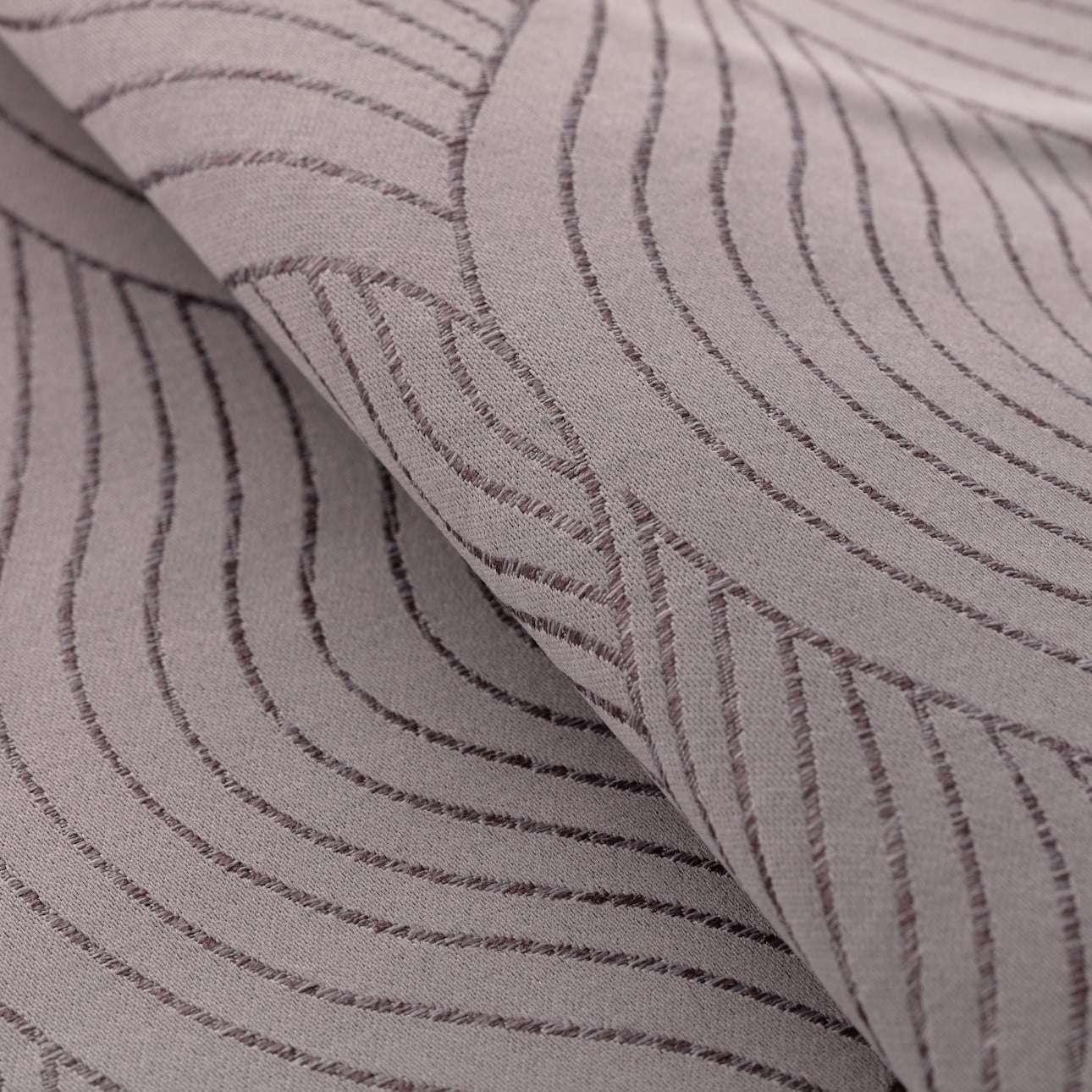Zaves s riasením WAVE V kolekcii Blackout - zatemňujúca, tkanina: 269-19