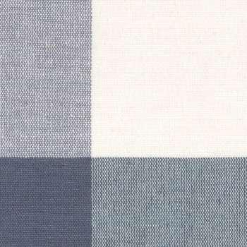 Zasłona na kanale z grzywką 1 szt. w kolekcji Quadro, tkanina: 136-03