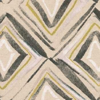 Pufa kostka w kolekcji Londres, tkanina: 140-46