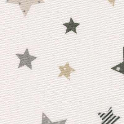 Sengeteppe quiltet<br/>10cm striper fra kolleksjonen Adventure, Stoffets bredde: 141-86