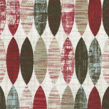 Panelgardiner, 2 st i kollektionen Modern, Tyg: 141-92