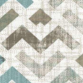 Podnóżek okrągły natural w kolekcji Modern, tkanina: 141-93