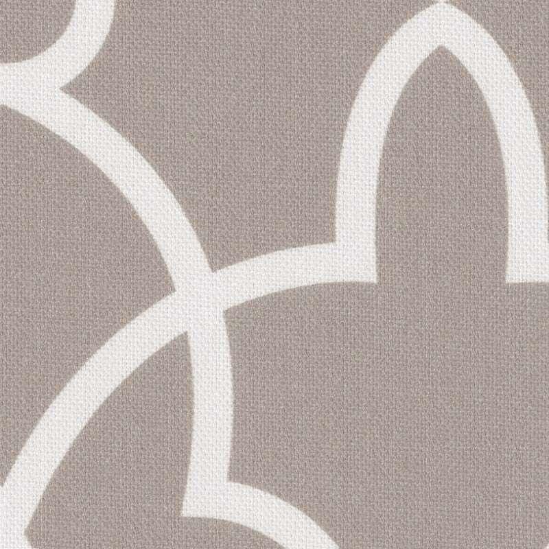 Lambrekin na taśmie marszczącej w kolekcji Gardenia, tkanina: 142-20