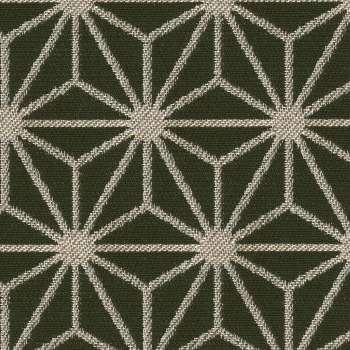 Skrzynia tapicerowana w kolekcji Black & White, tkanina: 142-56