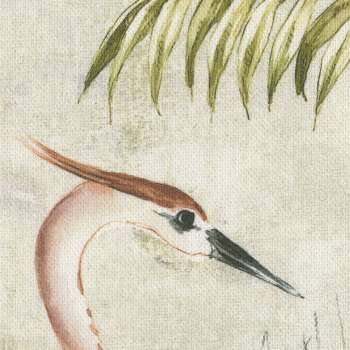 Zasłona na taśmie marszczącej 1 szt. w kolekcji Tropical Island, tkanina: 142-61