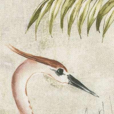 Schlaufenschal von der Kollektion Tropical Island, Stoff: 142-61