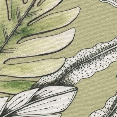 Zasłona na kółkach 1 szt. w kolekcji Tropical Island, tkanina: 142-65
