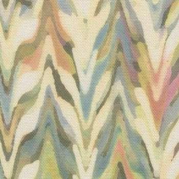 Zasłona na taśmie marszczącej 1 szt. w kolekcji Tropical Island, tkanina: 142-67