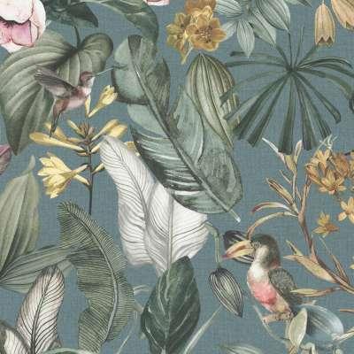 Rond tafelkleed van de collectie Abigail, Stof: 143-24