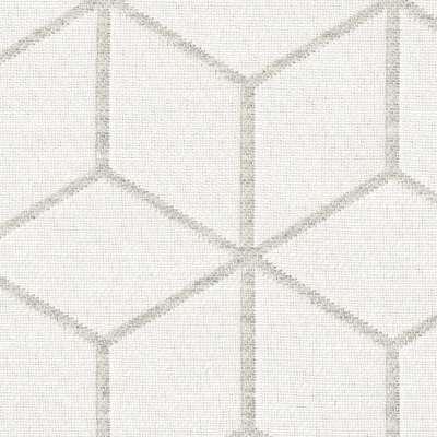 Podnóżek okrągły natural w kolekcji Sunny, tkanina: 143-51