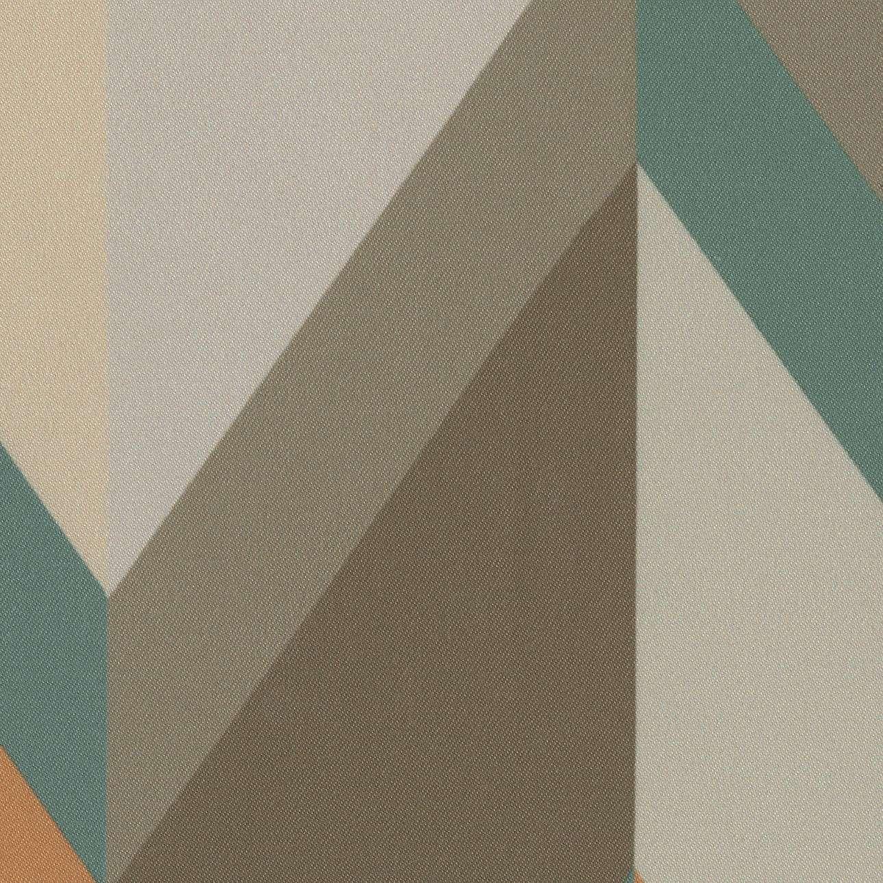 Zasłona na kanale z grzywką 1 szt. w kolekcji Vintage 70's, tkanina: 143-62