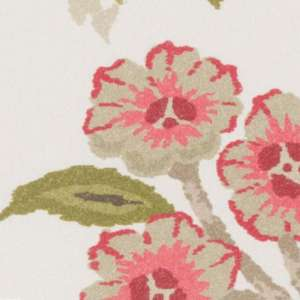 Pencil pleat curtains 130 x 260 cm (51 x 102 inch) in collection Flowers, fabric: 140-98
