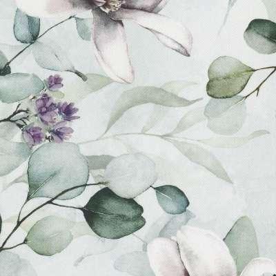 Poszewka Kinga na poduszkę w kolekcji Flowers, tkanina: 143-66