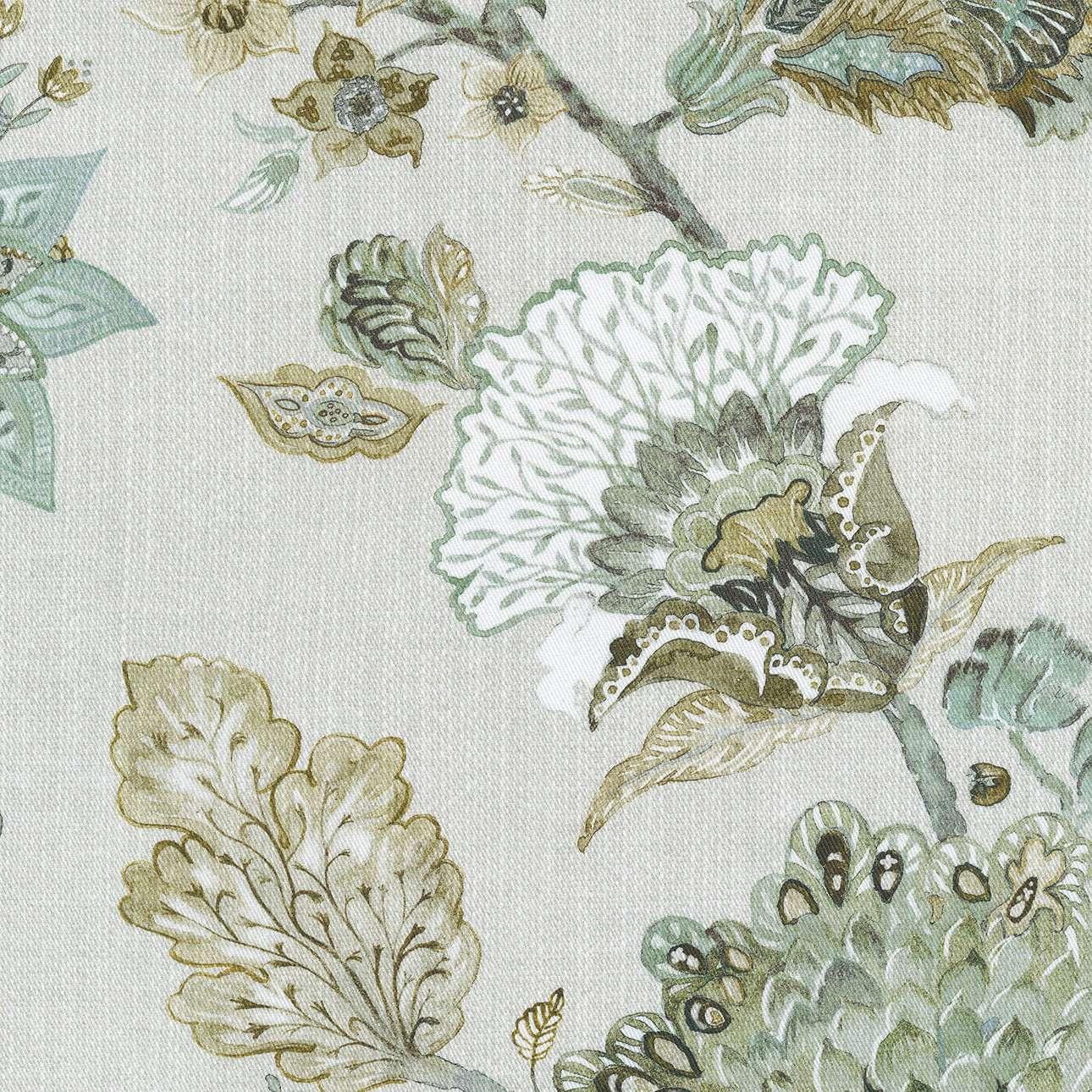Vouwgordijn Padva van de collectie Flowers, Stof: 143-67