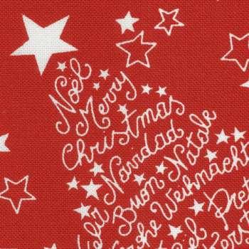 Gardinkappe med rynkebånd 130 x 40 cm fra kollektionen Christmas, Stof: 629-32