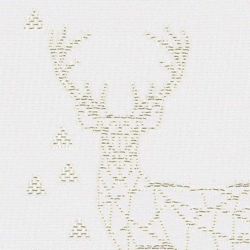 Kurzgardine mit Kräuselband von der Kollektion Christmas, Stoff: 629-38